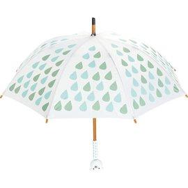 Vilac Sora Bear Wooden Handle Umbrella (Made in France)