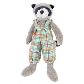Moulin Roty Racoon Grande Famille Soft Toy (20 cm)