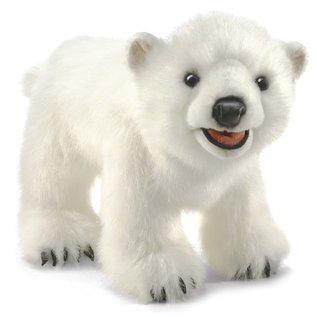 Folkmanis Puppets Polar Bear Cub Hand Puppet