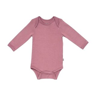 Kyte Baby Long Sleeve Mulberry Colour Bamboo Bodysuit by Kyte Baby