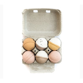 Level Naturals 6-Pack Bath Bombs by Level Naturals