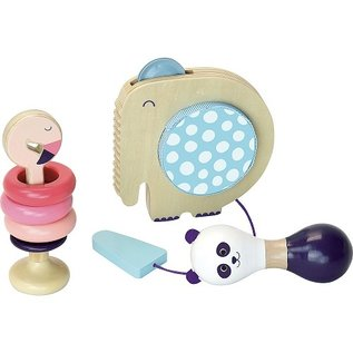 Vilac Baby Wooden Musical Instrument Set (Ages 1+) by Vilac