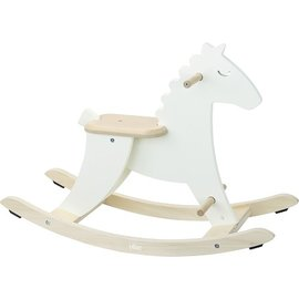Vilac Ivory Colour Ride On - Rocking Horse by Vilac