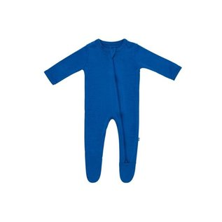 Kyte Baby Sapphire Colour Zippered Bamboo Footie by Kyte Baby