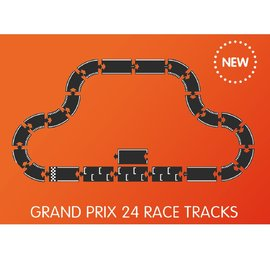 WaytoPlay Grand Prix Rubber Road 24 Piece Set by WaytoPlay