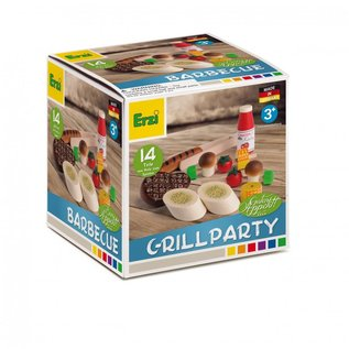 Erzi Wooden BBQ Grill Party Play Set
