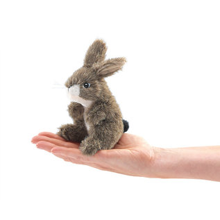 Folkmanis Puppets Mini Jack Rabbit Finger Puppet by Folkmanis