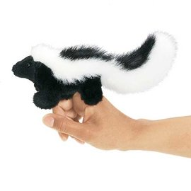 Folkmanis Puppets Mini Skunk Finger Puppet by Folkmanis