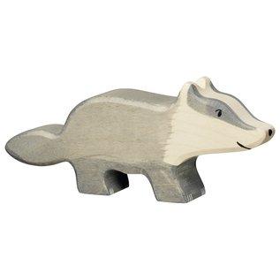 Holztiger Wooden Badger Figure by holztiger