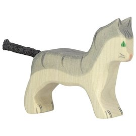 Holztiger Wooden Animal Figures ~ Cats ~ by Holztiger (Sold Individually)