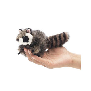 Folkmanis Puppets Mini Raccoon Finger Puppet by Folkmanis