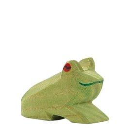 Ostheimer Wooden Animal Figure - Frog - By Ostheimer