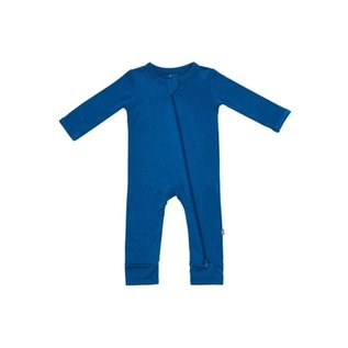 Kyte Baby Sapphire Colour Zippered Bamboo Romper by Kyte Baby
