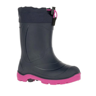 Kamik Navy/Magenta Snobuster Insulated+ Waterproof Boot