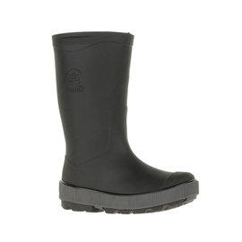 Kamik Black/Charcoal Riptide Style Rain Boot by Kamik