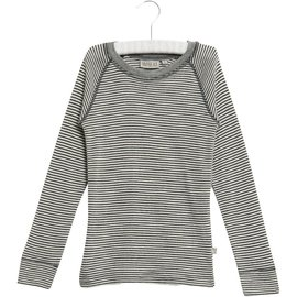 WHEAT KIDS Navy Stripe Wool Long Sleeve Top by Wheat Kids