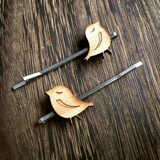 Cabin + Cub Bamboo Hair Pins 2-Pack