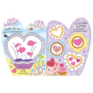 Make Believe Ideas I Love Hearts Sticker Book