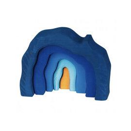 Gluckskafer Wooden Blue Grotto Set by Gluckskafer