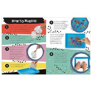Make Believe Ideas Marbling Makes Craft Kit