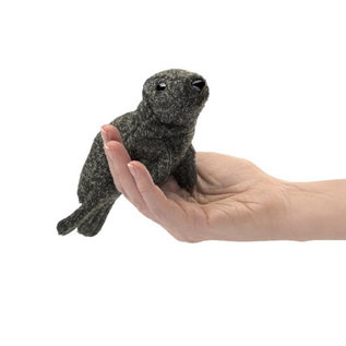 Folkmanis Puppets Mini harbor Seal Finger Puppet by Folkmanis