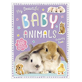 Make Believe Ideas My Beautiful Baby Animals Activity Book