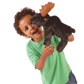 Folkmanis Puppets Small Moose Hand Puppet