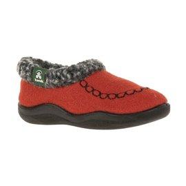 Kamik Red Cozy Cabin 2 Kid's Slippers by Kamik