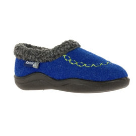 Kamik Blue Cozy Cabin 2 Kid's Slippers by Kamik