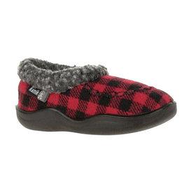 Kamik Red/Black Cozy Cabin 2 Kid's Slippers by Kamik