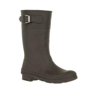 Kamik Black Raindrops Style Rain Boot by Kamik