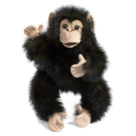 Folkmanis Puppets Baby Chimpanzee Hand Puppet