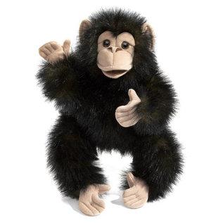 Folkmanis Puppets Baby Chimpanzee Hand Puppet