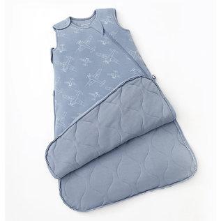 Gunamuna Airplanes Print Premium Duvet Bamboo Sleep Bag (1 Tog) by Gunamuna