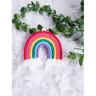 Mini Woven Rainbow Wall Hanging