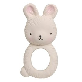 A Little Lovely Company Rubber Bunny Teething Ring