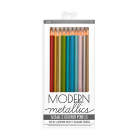 Ooly Modern Metallic Coloured Pencils (12 Pack)