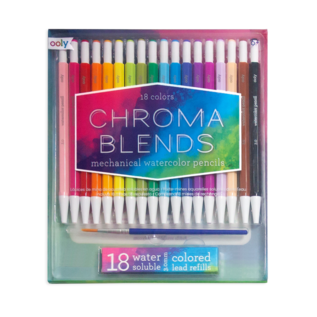 Ooly Chroma Blends Mechanical Watercolour Pencils (18 Pack)