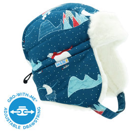 Jan & Jul by Twinklebelle Arctic Print Toasty Dry Winter Trapper Hat