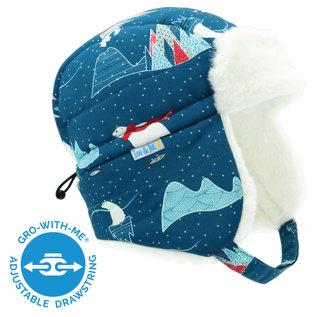 Jan & Jul by Twinklebelle Arctic Print Toasty Dry Winter Trapper Hat