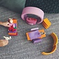 Grimms Pink-Orange Wooden Mobile Home by Grimms