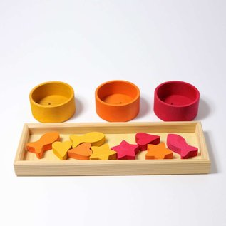 Grimms Sorting Game with Rainbow Bowls by Grimms