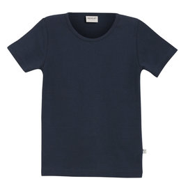WHEAT KIDS Navy Basic T-Shirt by Wheat