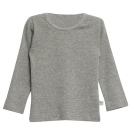 WHEAT KIDS Long Sleeve Basic Shirt Grey Colour by Wheat