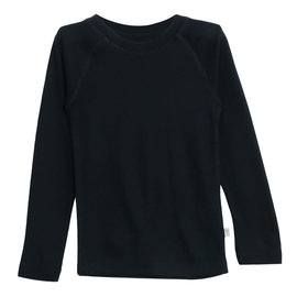 WHEAT KIDS Navy Merino Wool Long Sleeve Top by Wheat Kids