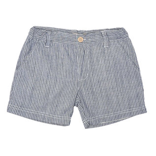 WHEAT KIDS 'Elvig' Style Cool Blue Stripe Shorts by Wheat