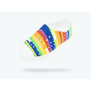 Native Jefferson Rainbow Stripe Native Shoes