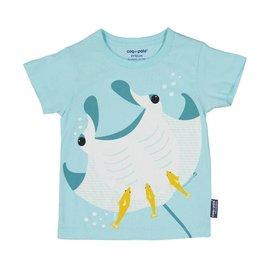 Coq en Pate Manta Ray T-Shirt by Coq en Pate