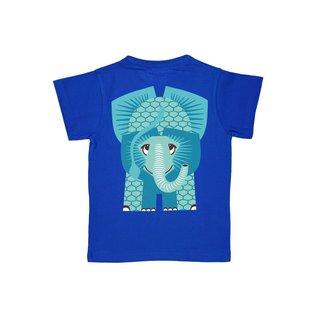 Coq en Pate Blue Elephant T-Shirt by Coq en Pate