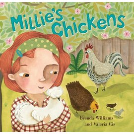 Barefoot Books Millie's Chickens Paperback Book